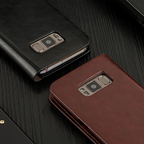 Недорогие Чехлы и кейсы для Galaxy Note 8-Кожаный чехол для телефона сальто musubo для apple samsung galaxy s8 / galaxy s8 plus Корпус для Samsung Note 8