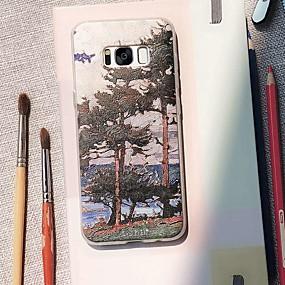 voordelige Galaxy S7 Hoesjes / covers-hoesje Voor Samsung Galaxy S9 / S9 Plus / S8 Plus Waterbestendig / Stofbestendig / Patroon Achterkant Boom TPU