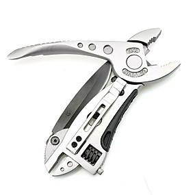 رخيصةأون مجموعات الأدوات-متعددة الوظائف في الهواء الطلق أداة معدنية سكين جيب وجع وجع مفك البراغي