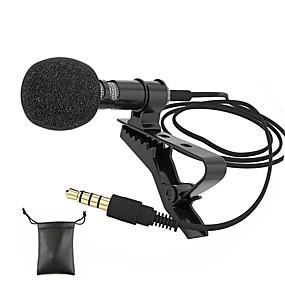 povoljno Potrošačka elektronika-audio mikrofoni 3,5 mm priključak za utičnicu clip-on lavalier mic stereo mini ožičeni vanjski mikrofon za mobilni telefon