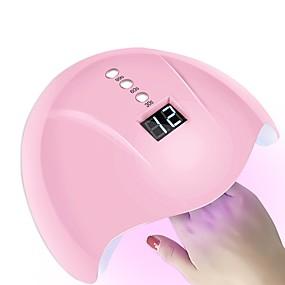 abordables Soin des Ongles-36w capteur intelligent ongles séchoir led / lampe uv avec minuterie lcd affichage ongles art outils pour le traitement de vernis à ongles auto-induction