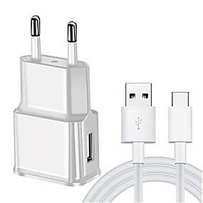 povoljno Kupuj prema modelu telefona-usb adapter za punjač brzi punjač kabel c za samsung galaxy a3 / a5 / a7 2017 a8 2018 j3 j5 j7 2016 a40 a50 a70 umidigi a5 pro