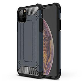 voordelige iPhone 11 Pro Max hoesjes-hoesje Voor Apple iPhone 11 / iPhone 11 Pro / iPhone 11 Pro Max Schokbestendig Volledig hoesje Schild TPU / PC
