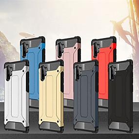 Недорогие Чехлы и кейсы для Galaxy Note 8-Кейс для Назначение SSamsung Galaxy Note 9 / Note 8 / Galaxy Note 10 Защита от удара Чехол броня ТПУ / ПК