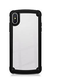 Недорогие Чехлы и кейсы для Galaxy Note 8-Кейс для Назначение SSamsung Galaxy Note 9 / Note 8 / Galaxy Note 10 Защита от удара / Прозрачный Кейс на заднюю панель Прозрачный ТПУ