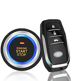 voordelige Auto-alarmen-12 v algemene auto anti-diefstal systeem afstandsbediening start afstandsbediening keyless enter pke een sleutel start