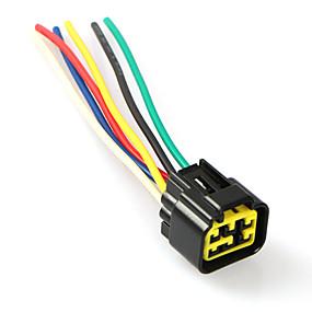Недорогие Запчасти для мотоциклов и квадроциклов-6-контактный разъем жгута проводов cdi жгута проводов разъем для yamaha ybr125 jym125
