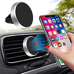 olcso szabadtéri testmozgás-univerzális mágneses mobiltelefon-tartó iphone x samsung huawei autós GPS szellőztető mágneses tartóhoz