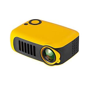저렴한 프로젝터-미니 휴대용 프로젝터 800 루멘 지원 1080 마력 LCD 50000 시간 램프 수명 홈 시어터 비디오 프로젝터