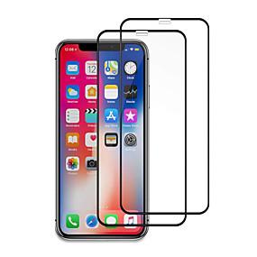 preiswerte Displayschutzfolien für iPhone 11 Pro-2pcs 9h Schirmschutz des ausgeglichenen Glases für iphone 11/11 Pro / 11 Pro maximales / xs maximales / xr / xs / x / 8plus / 8 / 7plus / 7 / 6plus / 6
