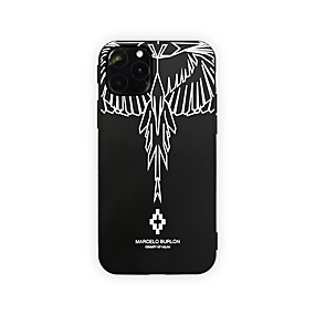 voordelige iPhone 11 Pro Max hoesjes-hoesje Voor Apple iPhone 11 / iPhone 11 Pro / iPhone 11 Pro Max Ultradun / Patroon Achterkant Veren TPU