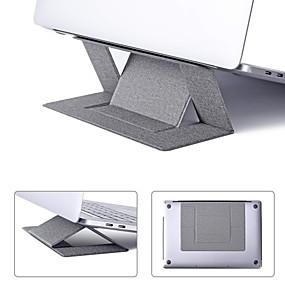 olcso Számítógépes periferiális egységek-litbest hordozható konzolban láthatatlan laptop állványtartó ultravékony, zökkenőmentesen leválasztható, állítható noteszgép-emelő, kompatibilis a MacBook air pro tablettákkal és az ultrabook 15,6 hüv