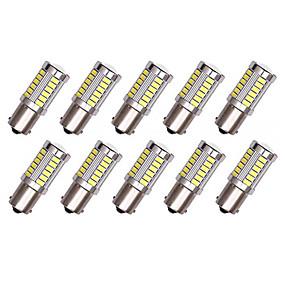 Недорогие Тормозные огни-10 шт. 1156 Автомобиль Лампы 5 W SMD 5630 33 Светодиодная лампа Лампа поворотного сигнала / Тормозные огни / Фонари заднего хода (резервные) Назначение Универсальный Все года