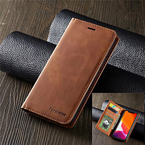 cheap Shop by Phone Model-Luxury Leather Magnetic Flip Case for Samsung Galaxy S10 S10E S10 Plus S10 5G Wallet Card Holder Book Cover S9 S9 Plus S8 S8 Plus S7 S7 Edge