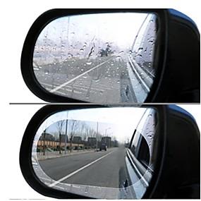 Недорогие Всё для авто и мотоциклов-2 шт. Зеркало заднего вида дождь фильм боковое окно пленка зеркало полный экран анти-туман нано-водонепроницаемая пленка