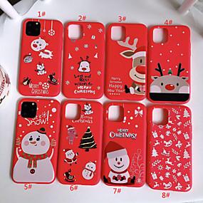 voordelige iPhone 11 Pro Max hoesjes-hoesje Voor Apple iPhone 11 / iPhone 11 Pro / iPhone 11 Pro Max Patroon Achterkant Cartoon TPU