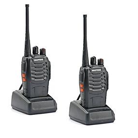 povoljno Tehnologija i gadgeti-2pcs walkie tokie baofeng bf-888s 16ch uhf 400-470mhz baofeng 888s pršut radio hf primopredajnik amador prijenosni interfoni super kvaliteta zvuka