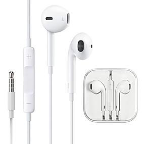 povoljno Oprema za PC i tablet-žičani uložak za uši u obliku mikrofona s mikrofonom za iphone
