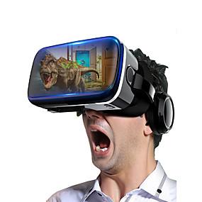 olcso VR Glasses-shinecon vr szemüveg 3D-s virtuális valóság audio-vizuálisan integrált fejre szerelt mobiltelefonokhoz