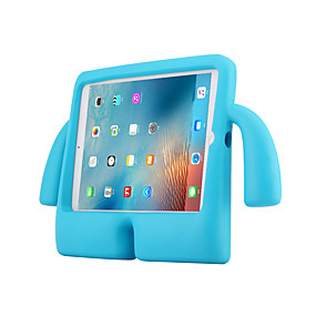 povoljno iPad 2/3/4 maske-Θήκη Za Apple iPad Air / iPad 4/3/2 / iPad Air 2 Otporno na trešnju / sa stalkom Stražnja maska Jednobojni PC / silika gel