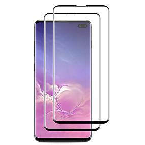 olcso -10% és még több-naxtop képernyővédő samsung galaxy s10e / s10 / s9 / s8 plusz nagy felbontású (hd) első képernyővédő, 2 db edzett üveg