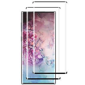 Недорогие Чехлы и кейсы для Galaxy Note-2шт 9h закаленное стекло-экран протектор для Samsung Galaxy Note 10 / примечание 10 плюс / примечание 9 / примечание 8