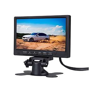 Недорогие Автоэлектроника-7-дюймовый автомобильный монитор 800 * 480 тфт цветной жк-экран автомобильная система парковки монитор для автомобиля задним ходом