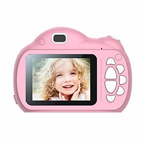 رخيصةأون CCTV Cameras-الأطفال مصغرة كاميرا أطفال ألعاب تعليمية للأطفال هدايا عيد الطفل هدية كاميرا رقمية 1080 وعاء كاميرا فيديو الإسقاط