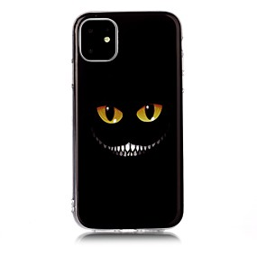 voordelige iPhone 11 Pro Max hoesjes-hoesje Voor Apple iPhone 11 / iPhone 11 Pro / iPhone 11 Pro Max IMD / Ultradun / Patroon Achterkant Cartoon TPU