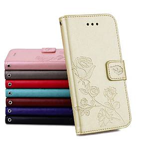 cheap Galaxy J5(2017) Cases / Covers-Case For Samsung Galaxy J3(2017)/J5(2017)/J7(2017)Palace flower PU Leather with Card Slot Flip up and down  For Galaxy J3J310J510J710