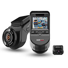 Недорогие Видеорегистраторы для авто-Junsun S590-S 4K 2160P Ultra HD Автомобильный видеорегистратор рекордер с двумя объективами видеорегистратор встроенный GPS-трекер камера ночного видения с 1080p 170 камера заднего вида