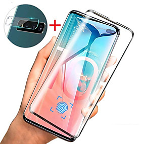 Недорогие Чехлы и кейсы для Galaxy S-защитная пленка для стекла и защитная пленка для объективов Samsung Galaxy S10 / S10 Plus / S10E / S9 PLUS / S9 / S8 PLUS / S8