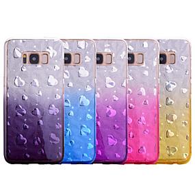 olcso Galaxy S9 Plus tokok-Case Kompatibilitás Samsung Galaxy S9 / S9 Plus / S8 Plus Ütésálló Fekete tok Egyszínű TPU