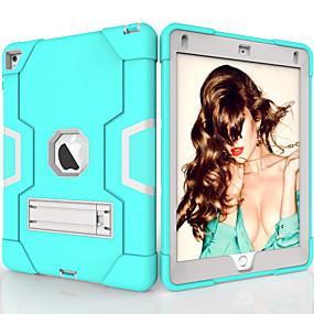 povoljno iPad 2/3/4 maske-Θήκη Za Apple iPad Air / iPad 4/3/2 / iPad (2018) Otporno na trešnju / sa stalkom Stražnja maska Jednobojni TPU / PC