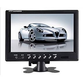 voordelige Auto-elektronica-9 inch tft lcd-monitor - 800x480 ntsc / pal hoofdsteun montageframe tweeweg video-ingang 7w