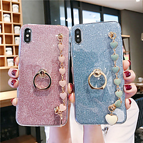 voordelige Galaxy S6 Edge Plus Hoesjes / covers-hoesje voor samsung van toepassing op s10 / s10e / s10 plus glitter patch s9 / s9 plus / s8 / s8 plus love bracelet s7 / s7 edge / s6 / s6 edge / s6 edge plus zachte anti-fall mobiele telefoon case