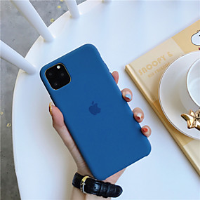 cheap Shop by Phone Model-Case For Apple iPhone 11 / iPhone 11 Pro / iPhone 11 Pro Max Shockproof / Ultra-thin Back Cover Solid Colored TPU
