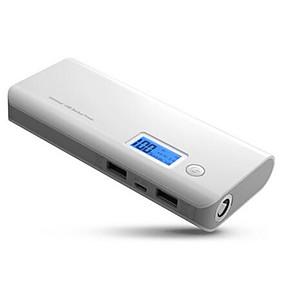 olcso 7500 - 10000 mAh-10000mah power bank kettős usb powerbank külső akkumulátor led kijelzővel gyorsan hordozható töltővel a xiaomi telefonokhoz