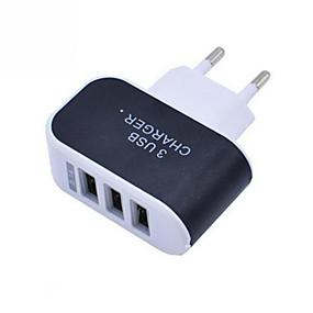 olcso USB Töltők-telefon töltő hordozható fali töltő több portos usb töltő 3 portos adapter mobiltelefonokhoz