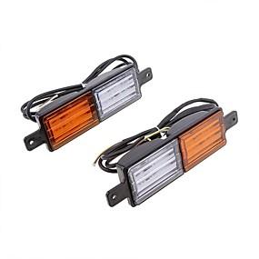 voordelige Remlichten-vehemo vleugel dubbele kleur waarschuwingslichten achterlichten auto achterlichten accessoires vrachtwagen universeel voertuig
