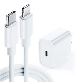 cheap Samsung Galaxy S10 Plus-18W Fast Charge PD Charger for Apple iPhone 11 Pro 8 Plus XR XS Max iPad USB Type C US and European Power Adapter
