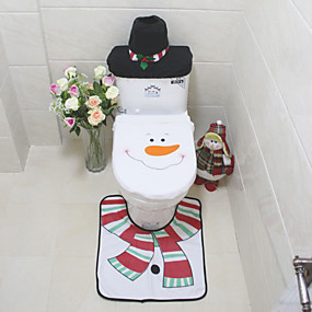 رخيصةأون أدوات الحمام-الحصير / معقد التواليت قابل للنقل كرتون / الحديث المعاصر قطن 1SET اكسسوارات المرحاض