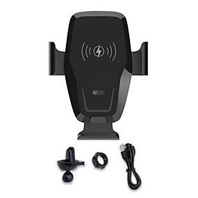 voordelige Autoladers-K88 infrarood inductie auto draadloos opladen 10 w snelladen outlet bracket auto autolader mount auto klemmen zwaartekracht sensor