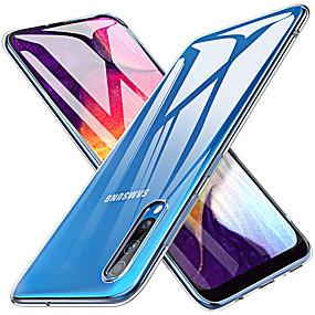 رخيصةأون Galaxy S7 Edge أغطية / كفرات-غطاء من أجل Samsung Galaxy S9 / S9 Plus / S8 Plus شفاف غطاء خلفي شفاف TPU