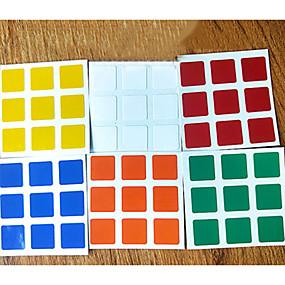 olcso Oktatási játékok-6db tartós matricák beállított 3x3x3 bűvös kocka