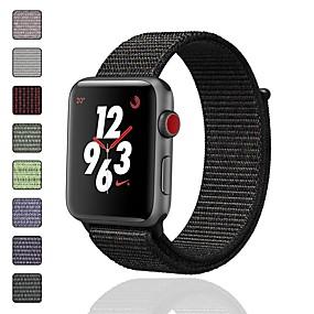 povoljno Kupuj prema modelu telefona-Pogledajte Band za Apple Watch Series 5/4/3/2/1 Apple Sportski remen / Dizajn nakita Najlon Traka za ruku