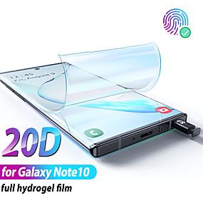povoljno Galaxy Note Screen Protectors-hidrogel film za samsung galaxy note 10 plus zaštitni ekran note10 plus za samsung note10 plus note10 a ne zaštitu od stakla
