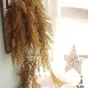 olcso Művirágok-művirágok 1 ág klasszikus falra szerelhető függő esküvő egyszerű stílusú növények kosár virág