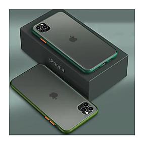 voordelige iPhone 11 Pro Max hoesjes-appel van toepassing op 11 mobiele telefoon shell hit kleur dun 11pro all-inclusive onbreekbaar beschermhoes 11pro max mat transparant xs max nieuw creatief xr tij merk netto rood siliconen 6/7 / 8p