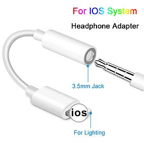 olcso Kiárusítás-fejhallgató-csatlakozó kábel ios 12 11 fejhallgató-adapter iphone-hoz xsmax xr xs x 8 7 nő-3,5 mm-es férfi adapter adapter aux adapter iphone-hoz